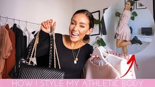 HOW I STYLE MY ATHLETIC BODY - 4 Casual (BUT SASSY) Outfits!