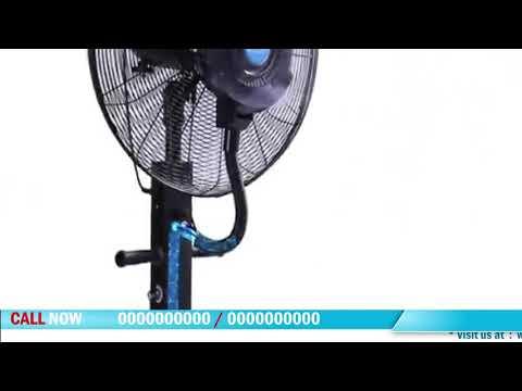 Hlt Out Door Mist Fan