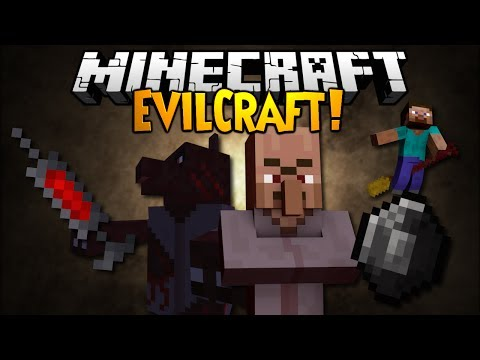 Minecraft Mod Showcase: EVILCRAFT!