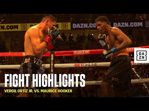 Верджил Ортис – Морис Хукер / Vergil Ortiz vs. Maurice Hooker
