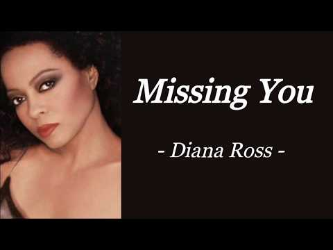 MISSING YOU   DIANA ROSS   AUDIO SONG LYRICS