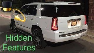 Hidden Features: Yukon, Tahoe, Suburban, GMC, Chevrolet