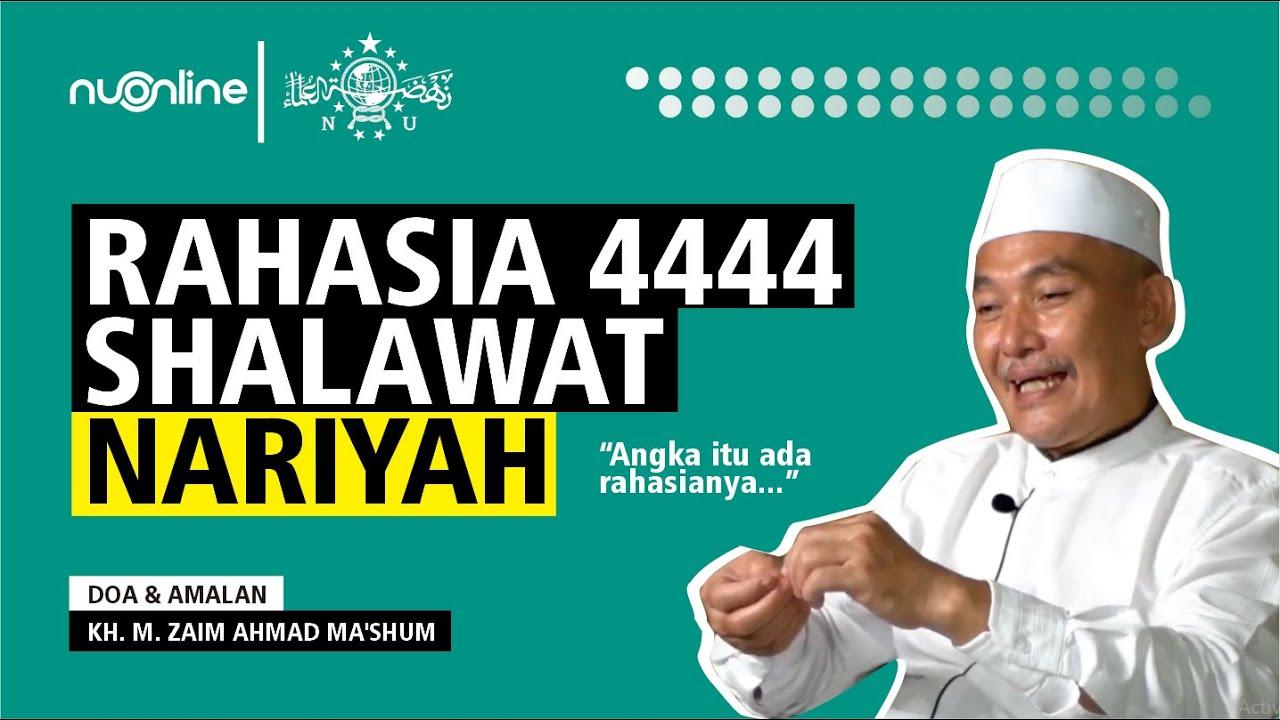 Ijazah Shalawat Nariyah Mbah Maksum Lasem