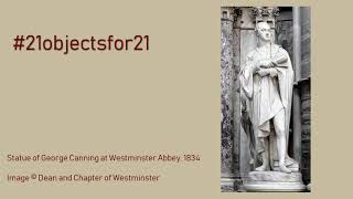 Statue of George Canning at Westminster Abbey | presented by John Kittmer