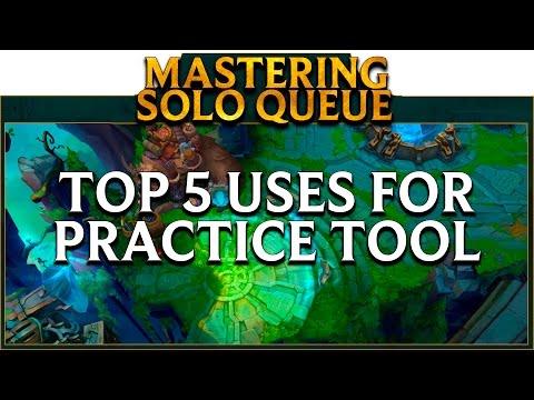 LoL School Mastering SoloQ: Top 5 Practice Tool Drills | League of ...
