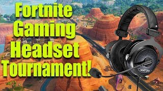 Fortnite Beyerdynamic Gaming Headset Tournament! | Kholo.pk