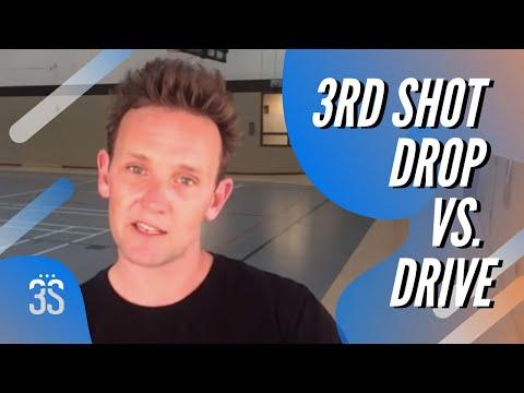 3rd Shot Drop vs Drive
