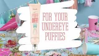"Iron on…puff off! Puffies & creases look ""satiny smooth"" with our innovative undereye gel. The custom ""ironing"" tip instantly helps smooth the look of  undereye puffies & fine lines. Iron away for a smoother day!"