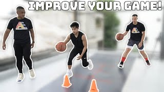TIPS TO IMPROVE YOUR BASKETBALL SKILLS!