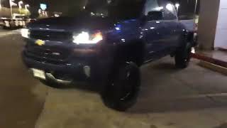 2018 Chevrolet Silverado Z71 4X4 7in Lift with 22in & 35in Christopher Ausmus Bayway 832-409-8078