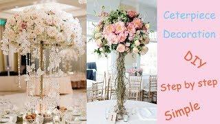 Floral Centerpiece / Wedding Decoration / Candelabra Creation series 4