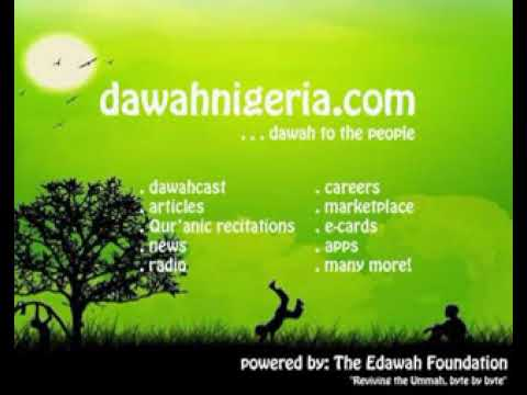 Purpose Of Human Existence 1 - Dr Abdul Razzaq Alaro (Yoruba)_dawahnigeria.mp4