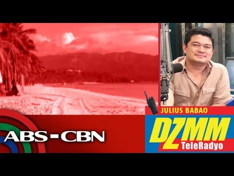 [ABS-CBN]  DZMM TeleRadyo: All systems go for Boracay soft opening according to DENR