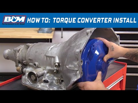 How to Install a B&M Torque Converter