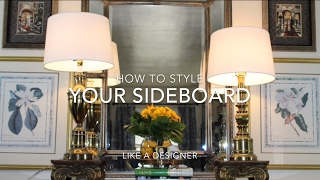 How To Style Your Entryway 2018 / Foyer Decorating Hacks / Summer Decorating / Glam Home