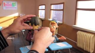 Making Of TALKING CLAY KIDS Video Glass