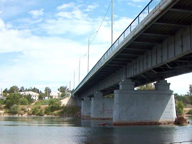 Спрыгнула с моста