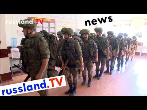 Militär: Alarmübungen in Russland [Video]