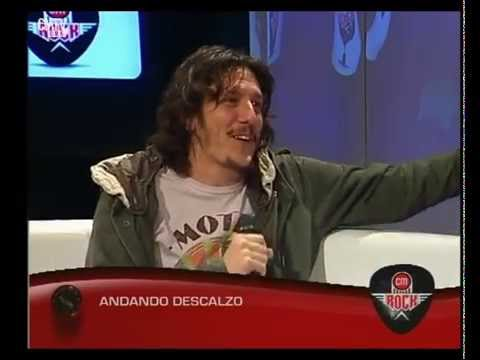 Andando Descalzo video Entrevista CM Rock - Mayo 2015