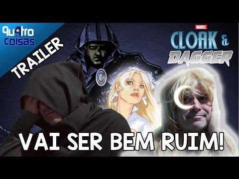 REAÇÃO: MANTO E ADAGA (CLOAK AND DAGGER, TRAILER) VAI SER BEM RUIM! - COMENTÁRIOS