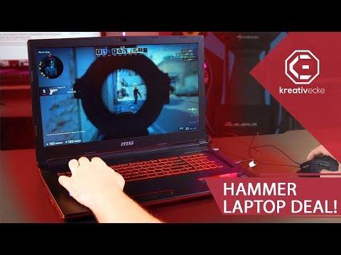 HAMMER RTX GAMING NOTEBOOK DEAL! Raytracing im Laptop zum günstigen Preis!