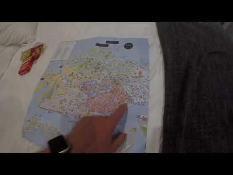Италия. Венеция. Карта города и наш номер. Hotel Cannaregio 2357