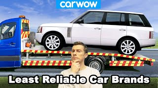 Who makes the LEAST and MOST reliable cars? All the major car firms ranked for reliability!