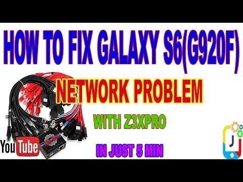 SM-G925I Patch Certificate Repair /Network By Z3X BOX - смотреть