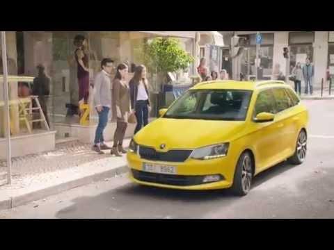 Skoda Fabia Combi Универсал класса B - рекламное видео 3