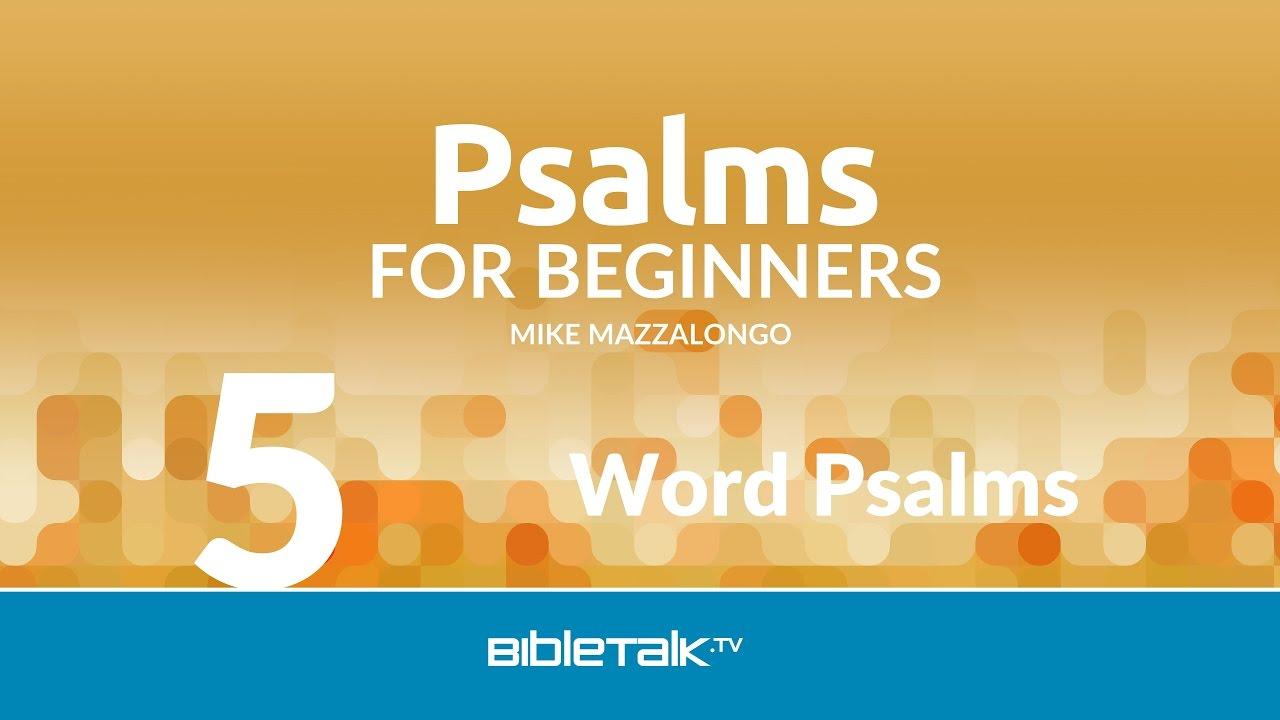 5. Word Psalms