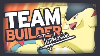Typhlosion  - (Pokémon) - Pokemon Team Building   Heart Gold Soul Silver   Cyndaquil, Quilava & Typhlosion