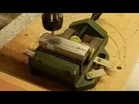 CNC Fräse neue Backen für den Schraubstock aus Aluminium