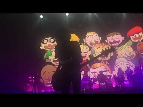 Gorillaz - Dirty Harry ft  Bootie Brown (Birmingham 2017 - смотреть
