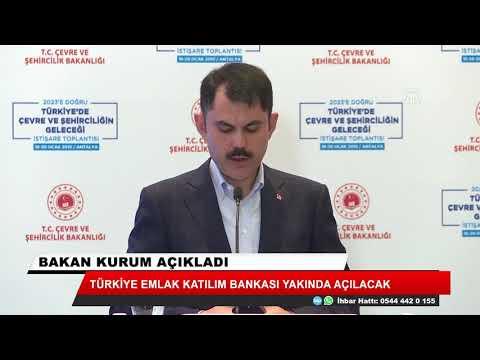 Türkiye Emlak katılım Bankası yakında açılacak