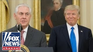 Donald Trump and Rex Tillerson: A tenure of tension