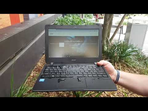 Acer B117 water test