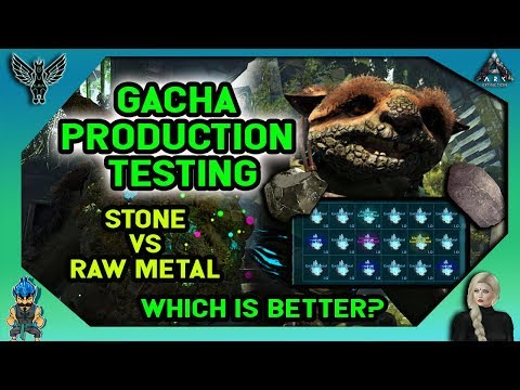 How Gacha Crystal Production Works ARK Extinction - смотреть онлайн