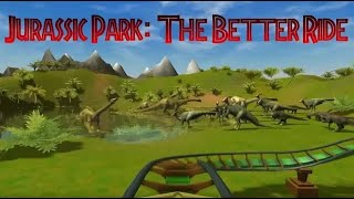 [RCT3] Jurassic Park: The Better Ride