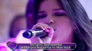 Mariana Rios e Exaltasamba - Viver sem Ti no Mais Você