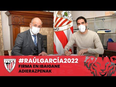✍️ Raúl García – Firma y Declaraciones – Adierazpenak – #RaúlGarcía2022