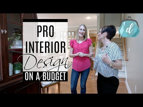 ROOM MAKEOVER ❤ Thrifting & Upcycling Tips with Interior Designer Rebecca Robeson - Do It On A Dime - Video - Dangdutan.me