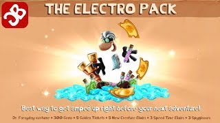Rayman Adventures - UNLOCK THE ELECTRO PACK (Adventure 201 - 202) Gameplay Video - Part 94