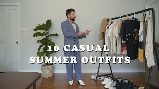 10 Casual Summer Outfits | Mens Summer Fashion 2020