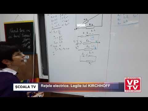 Rețele electrice. Legile lui KIRCHHOFF