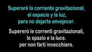 La cura (Español/Italiano)