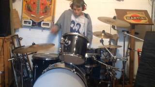 Dropping out of school (Brad sucks) - Drum cover