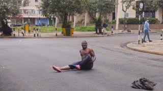 Fikita aibiwa na team @GeneralTheodore Nairobi CBD#kanairo