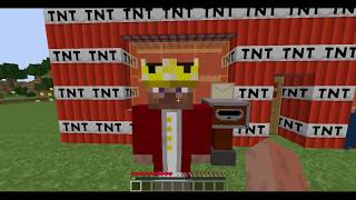 LIVING IN THE TNT - Minecraft
