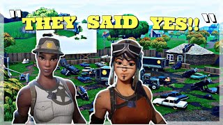 I Tried Out For The RAREST RECON EXPERT Fortnite Clan With Out (OG SKINS) And This Happened....