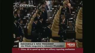 Joko Widodo inaugurated as Indonesia's 7th president